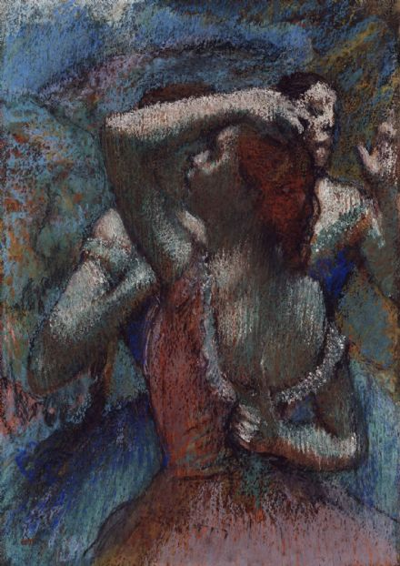 Degas, Edgar: Dancers. Fine Art Print/Poster. Sizes: A4/A3/A2/A1 (003743)
